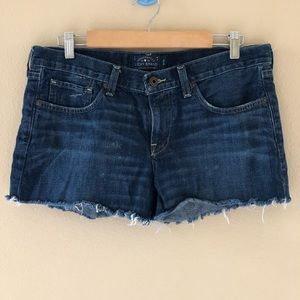 Lucky Brand the cut off raw hem shorts size 29/8